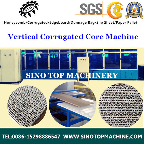 Corrugation Honeycomb Core Sheet Equipment