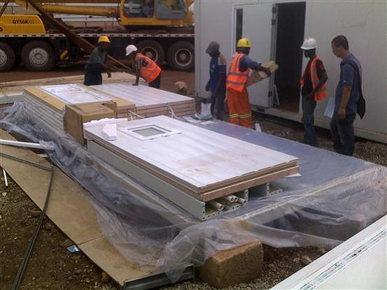 prefabricated houses in south africa/saudi arabia