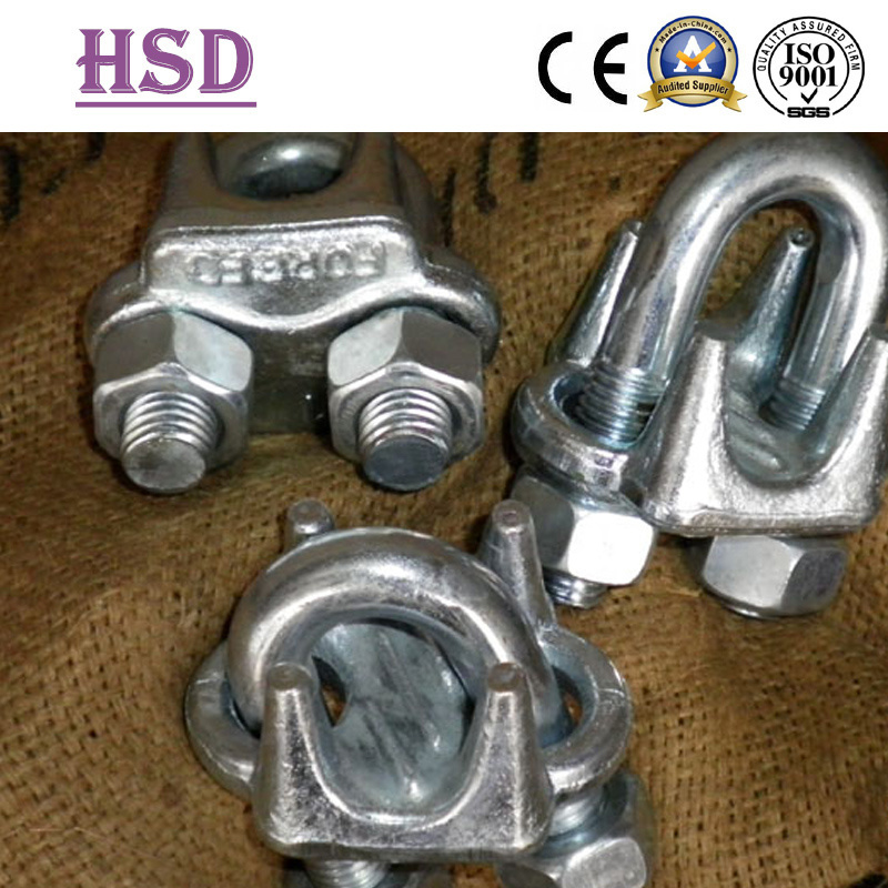 E. Galvanized Us Type Forged Mellable Wire Rope Clips