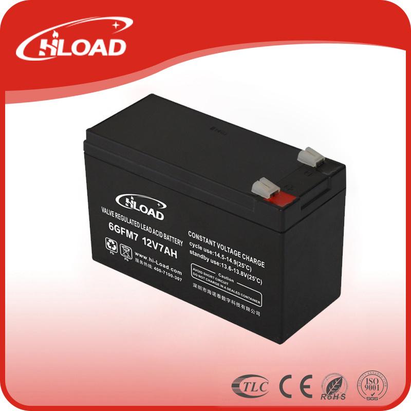 Hiload 12V 7ah Lead Acid Battery Deep Cycle Battery Gel Battery UPS Battery Solar Battery