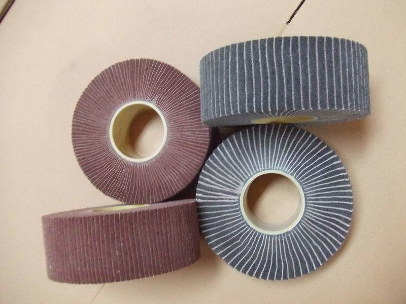Non-Woven Falp Wheels with Sand Paper