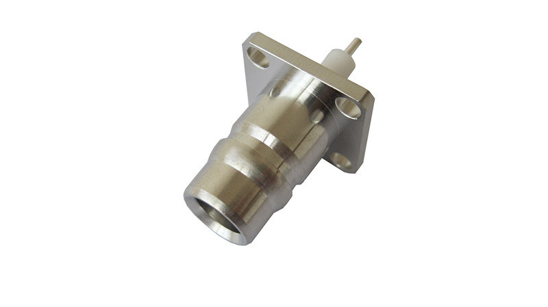 RF Coaxial Connector F Plug to F Plug, Adapter