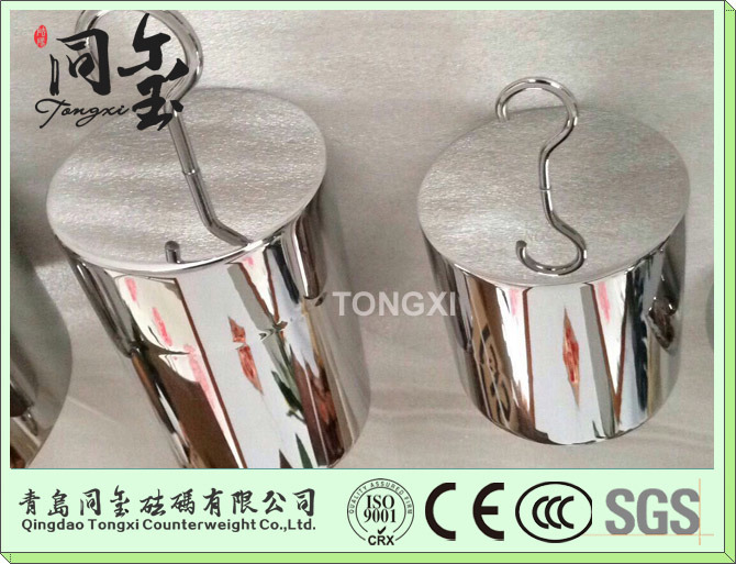 OIML Standard F1 Class Counter Weights Calibration Weights for Platform Scale Industrial Scale