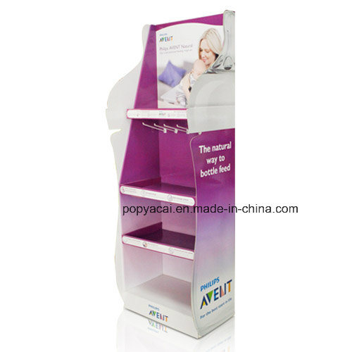 Pop Floor Display, POS Display Stand, Peper Display Shelf