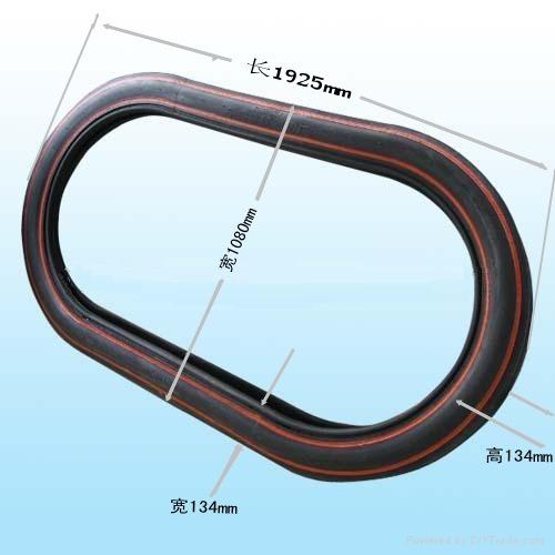 China High Quality Bumper Car Tyre 1925X1080X134 B/E