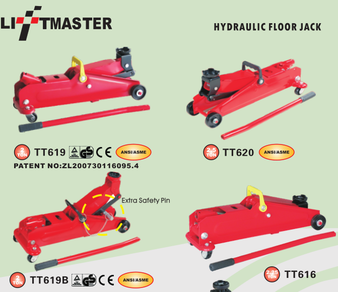 China Liftmaster 3 Ton Trolley Jack Car 4X4 Van SUV High