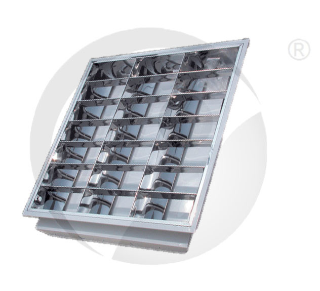Grid Plate Recess/Surface Luminaries Louver Lighting Fixture Fitting Grille Lamp