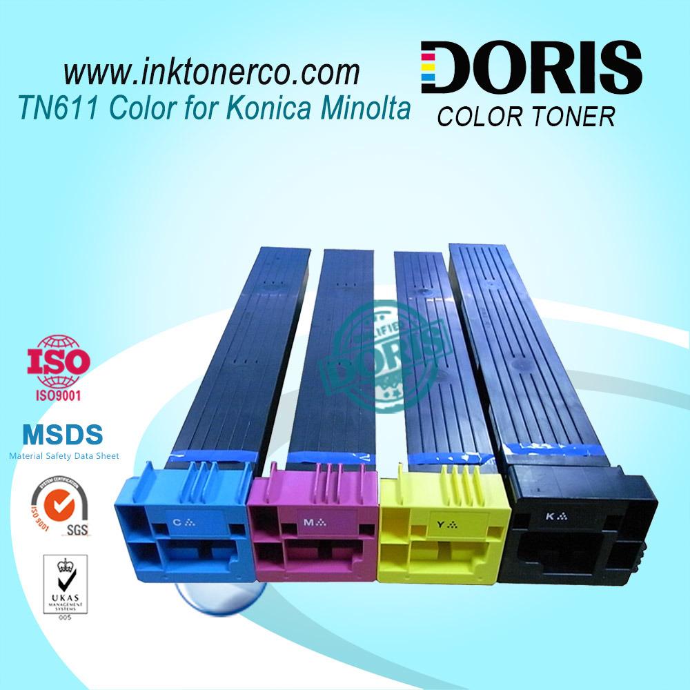 Tn611 Color Copier Toner Cartridge for Konica Minolta Bizhub C451 C550 C650 Copier Parts