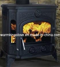 Cast Iron Wood Burning Stove (AM17B-11KW)