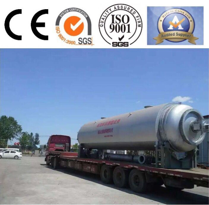 High Efficiency Waste Rubber to Diesel Distillation Machine