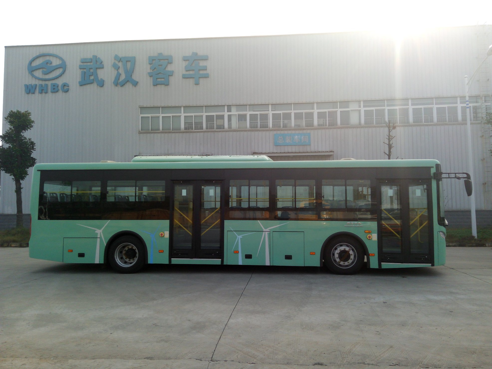 10meter Pure Electric City Bus for 80 Passengers