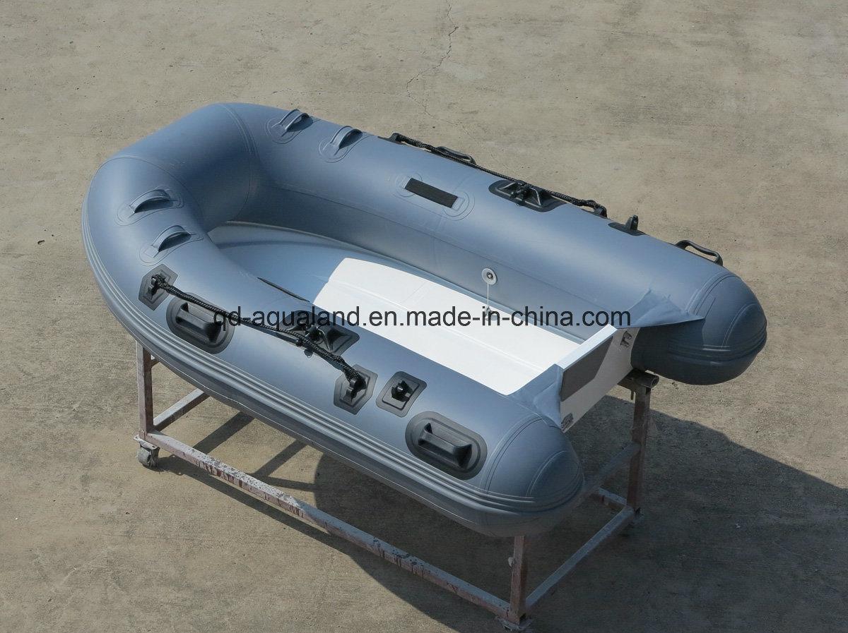 Aqualand 8feet 2.4m Rigid Inflatable Fishing Boat/Rib