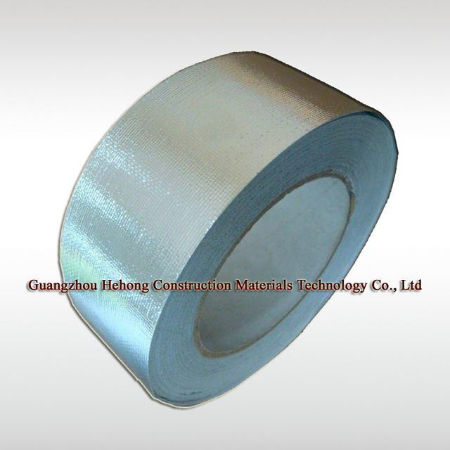 Fire Resistant Self Adhesive Aluminum Glass Fabric Tape