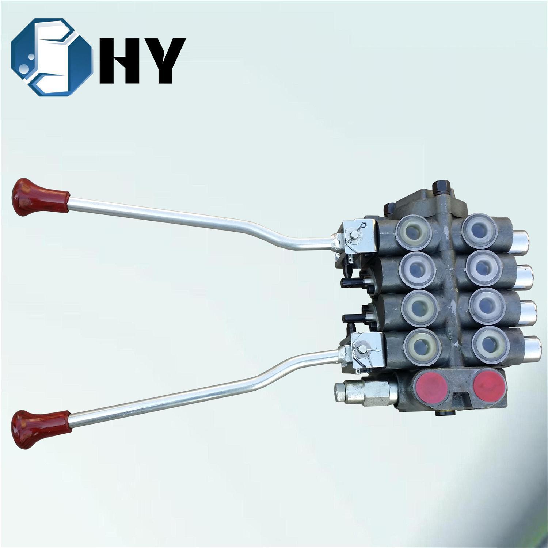 ZCDB Hydraulic Pump Directional Control 4 Spool Valve Crawler Loader