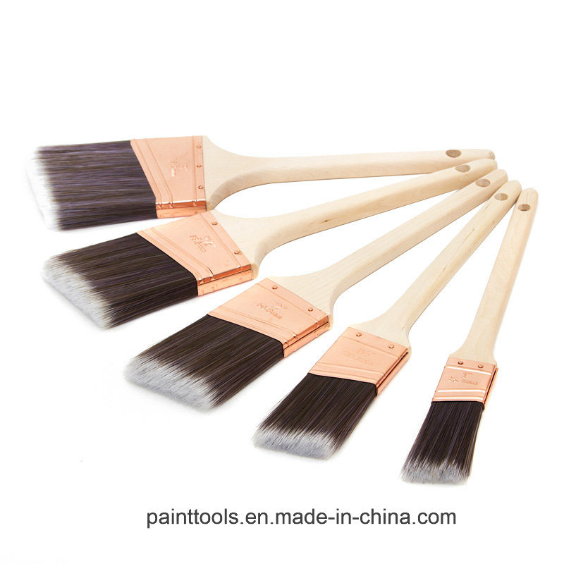 Rattail Paint Brush with Wood Handle B027