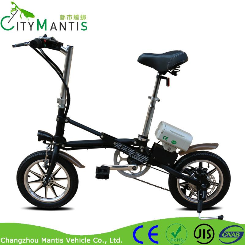 14 Inch 7 Speed 36V 250W Electric Folding City Bike