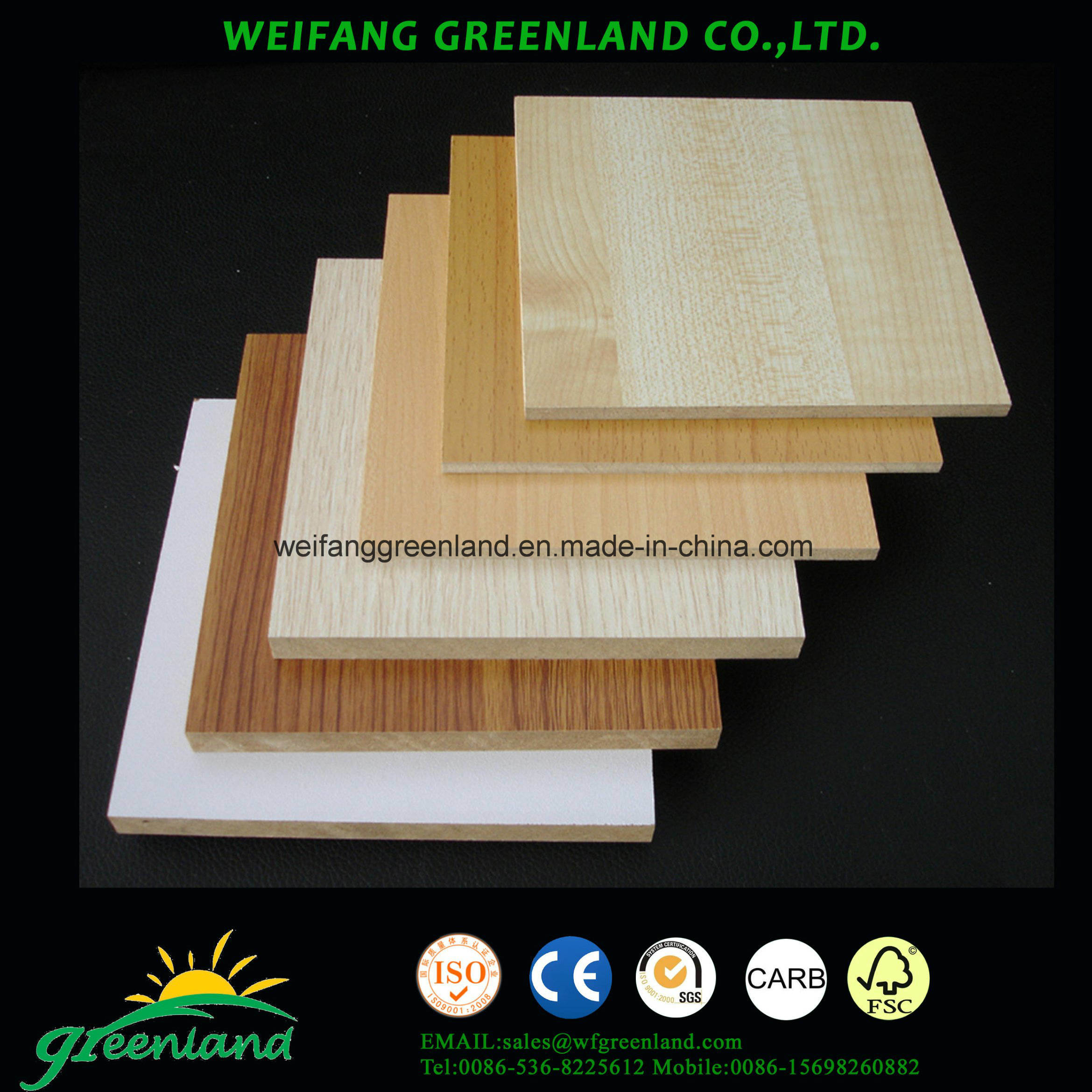 Smooth Finish Melamine MDF