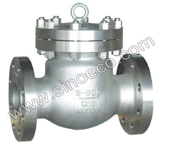 Swing Type No-Return Check Valve for Oil & Gas