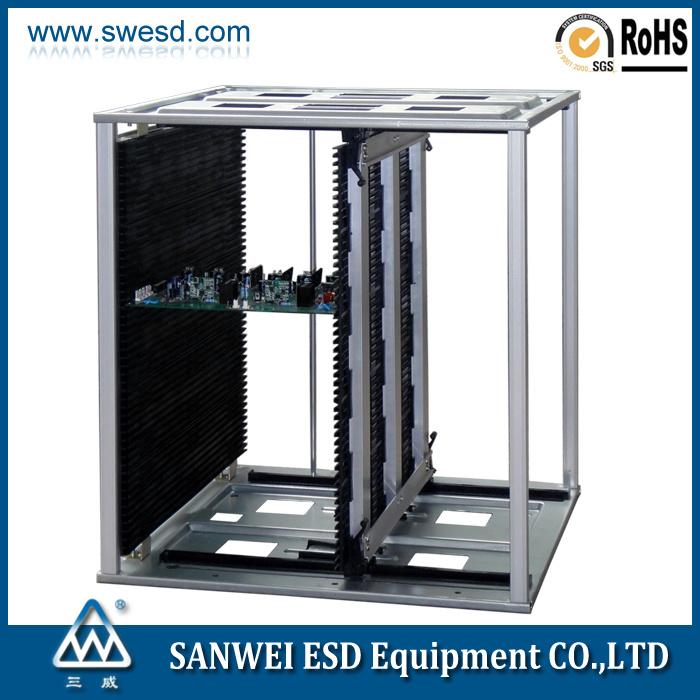 L Size SMT Antistatic ESD PCB Magazine Rack (3W-9805301E/EG)
