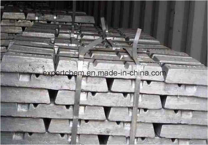 High Grade Bulk 99.7 % Zinc Ingots From Factory