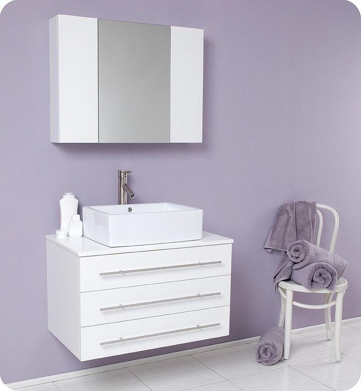 China Wall Hanging MDF Bathroom Vanity MM 0135 China Mdf Bathroom Vanity
