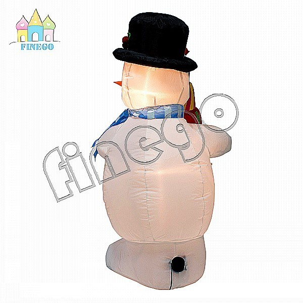 Inflatable Cheap Christmas Gift Decoration Toy Snow Man Cartoon Balloon