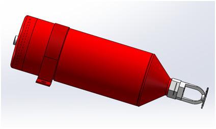 Automatic ABC Super Fine Powder Extinguisher