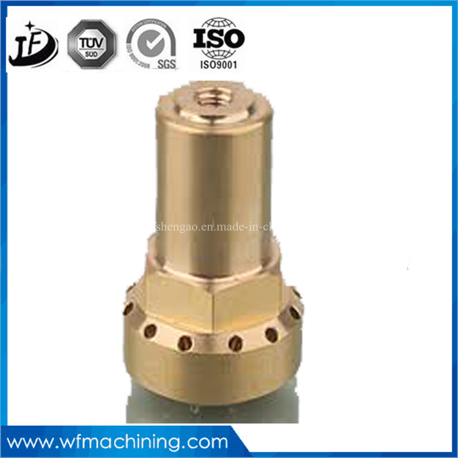 Competitive High Precision Brass/Copper/Cuprum/CNC Machining Turning Parts