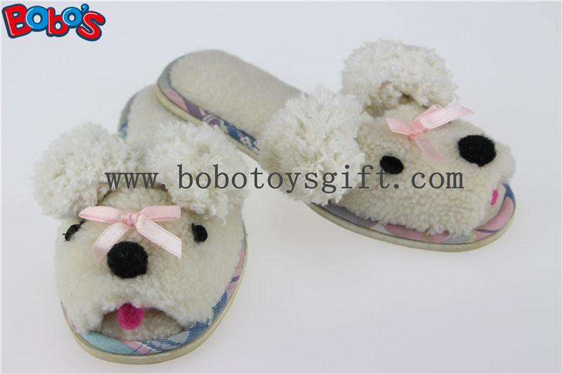 Plush Cartoon Sheep Kids Slipper Indoor Children Shoes