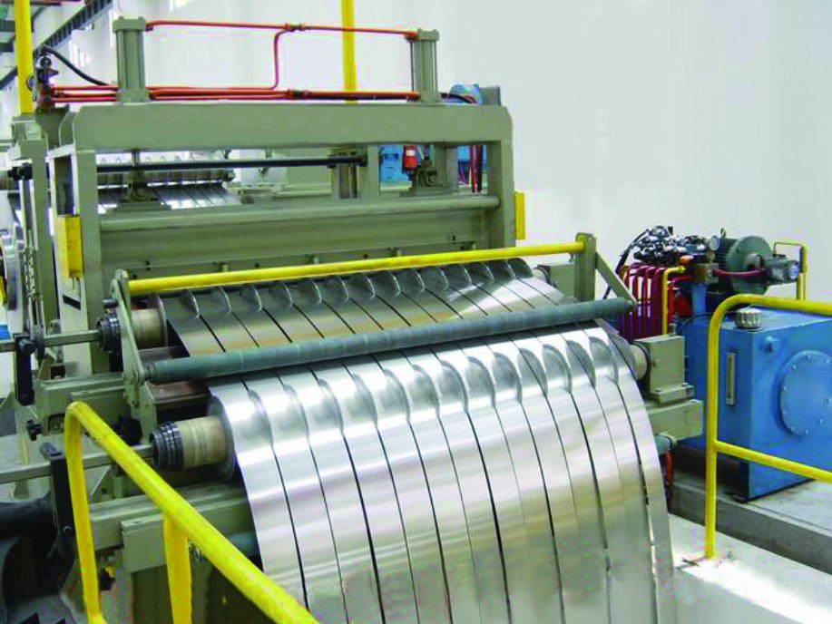Slitting and Cut to Length Combined Line