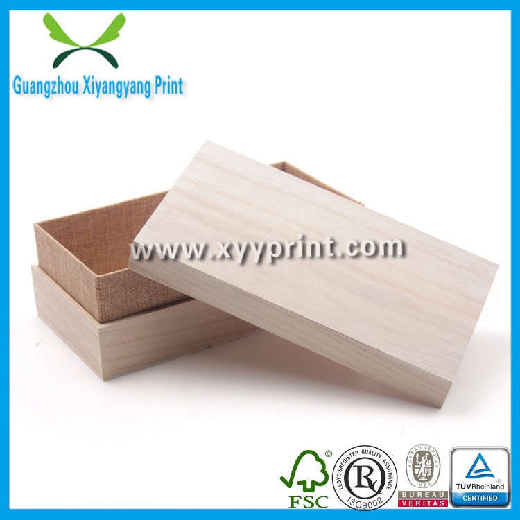 Custom Wooden Gift Storage Box Packaging for Tea Jewelry Watch