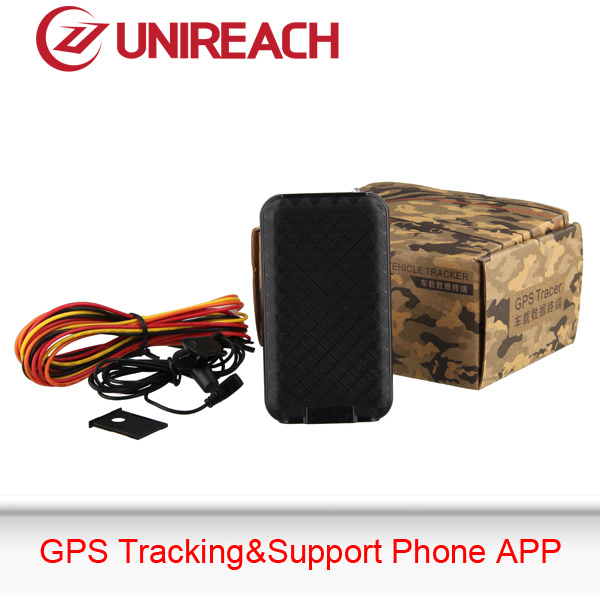 GPS Vehicle Tracker with Engine Cut, Free Tracking Service (FK80)