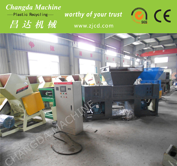 High Output Plastic Film Wood Shredder
