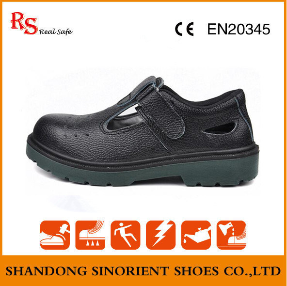 Ce High Quality Steel Toe Cap Summer Safety Shoes RS314
