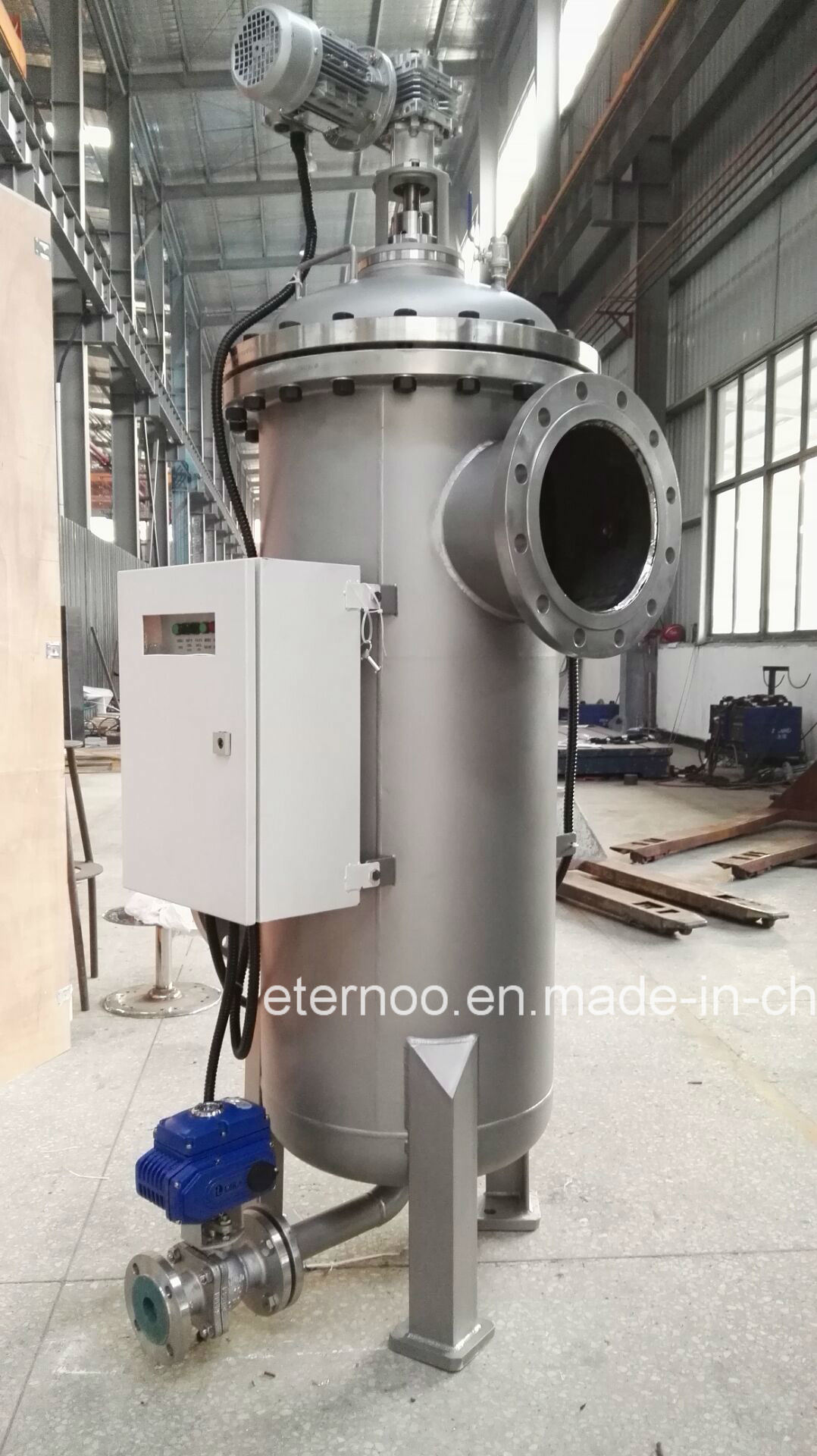 Industrial Automatic Self Cleaning Brush Water Filter