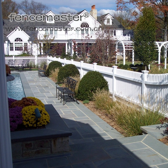 ASTM Certified&Lifetime Warranty Vinyl Fence