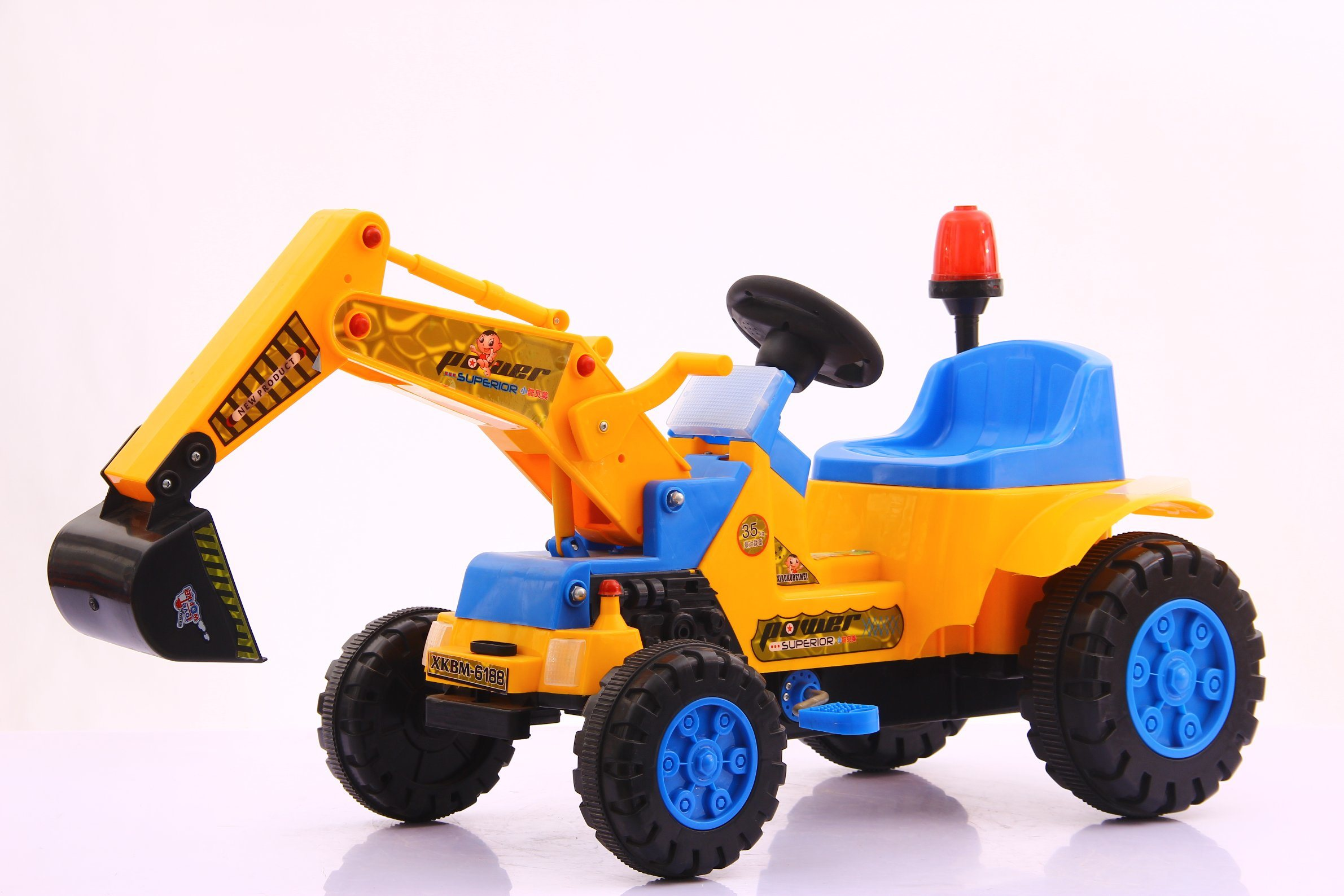 China Baby Kids Toys Navvy Electric Car Truck Bulldozer Ride on