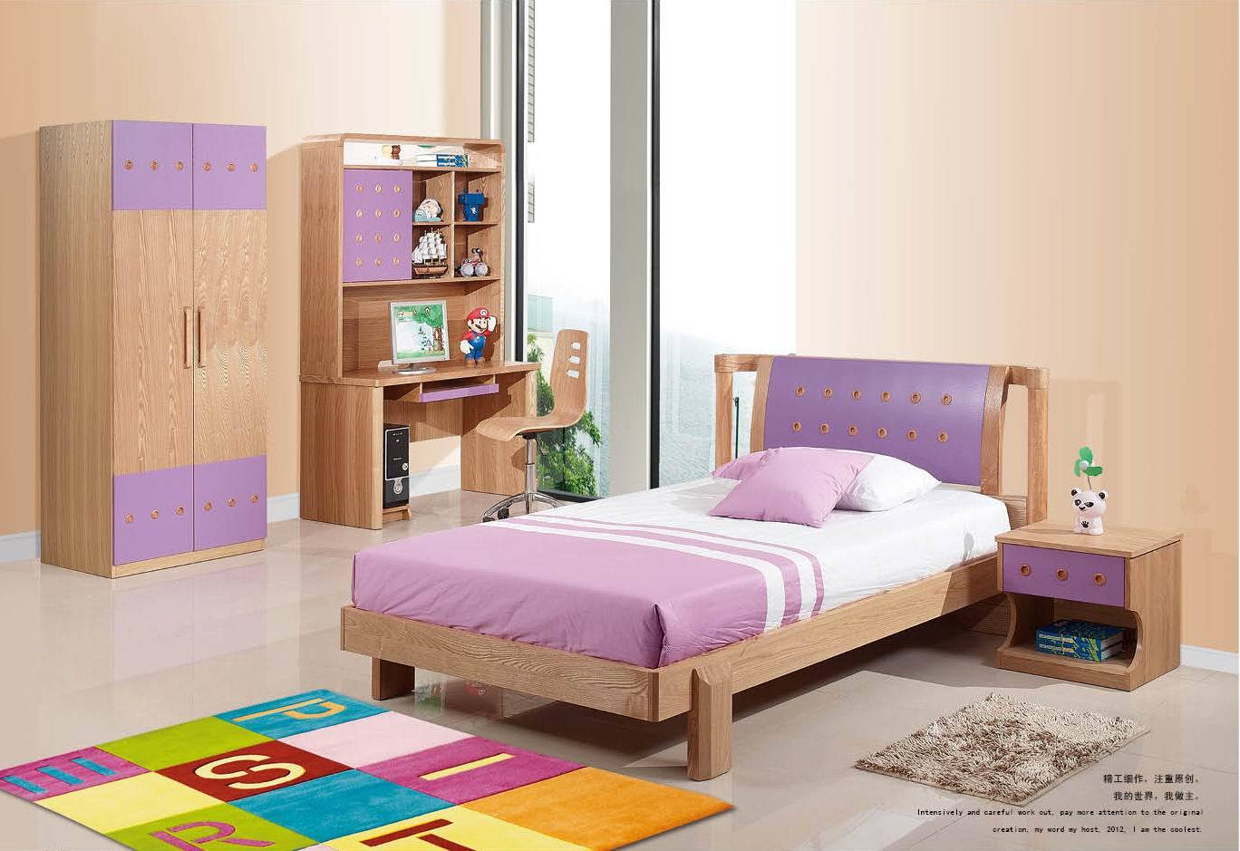 China kids bedroom set jkd 20130 china kids bedroom for Youth bedroom furniture sets