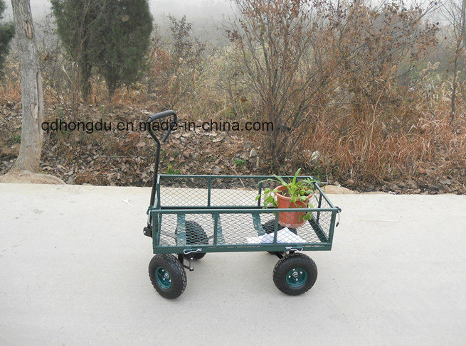 High Quality 700kgs Capacity Steel Mesh Cart/Utility Tool Cart
