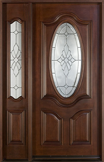 Solid Wood Villa Main Door