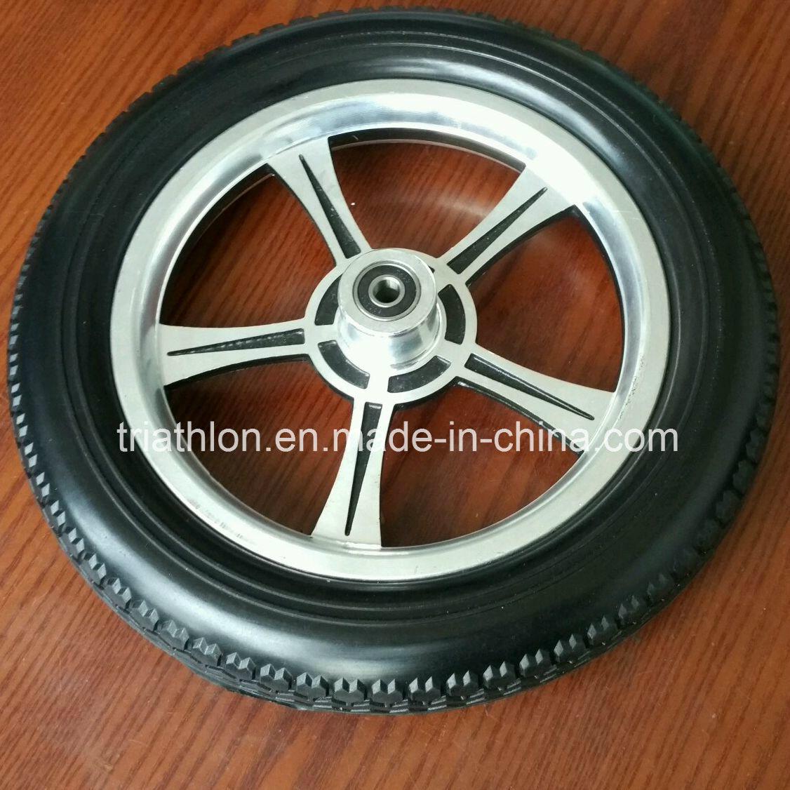 12X 1.75 12X2.125 12X2.5 12X3 Flat Free Trolley Wheel
