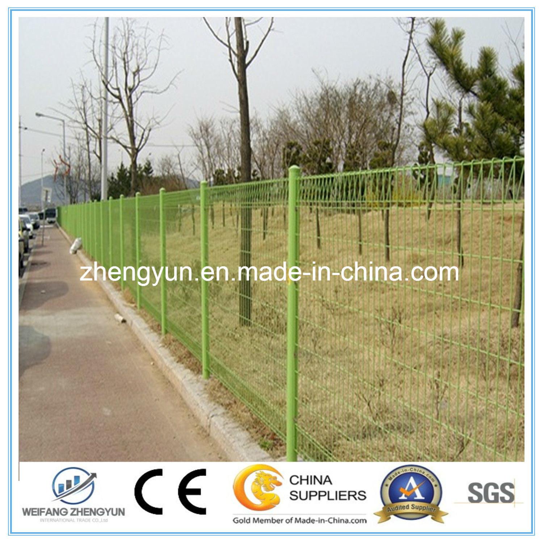 2017 Hot Sale Galvanized Metal Welded Wire Mesh Garden Fence Panel
