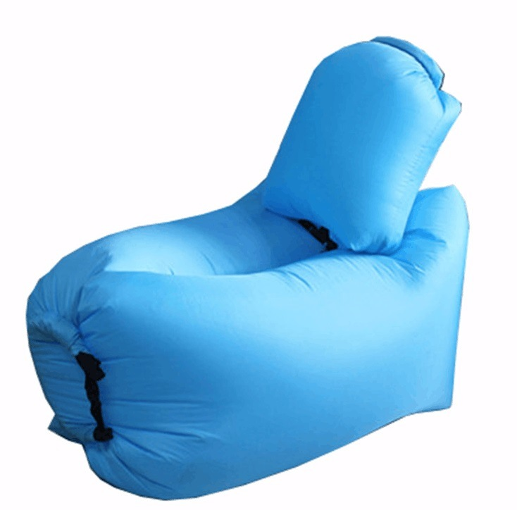 New Fast Inflatable Air Bed with Back Support for Children