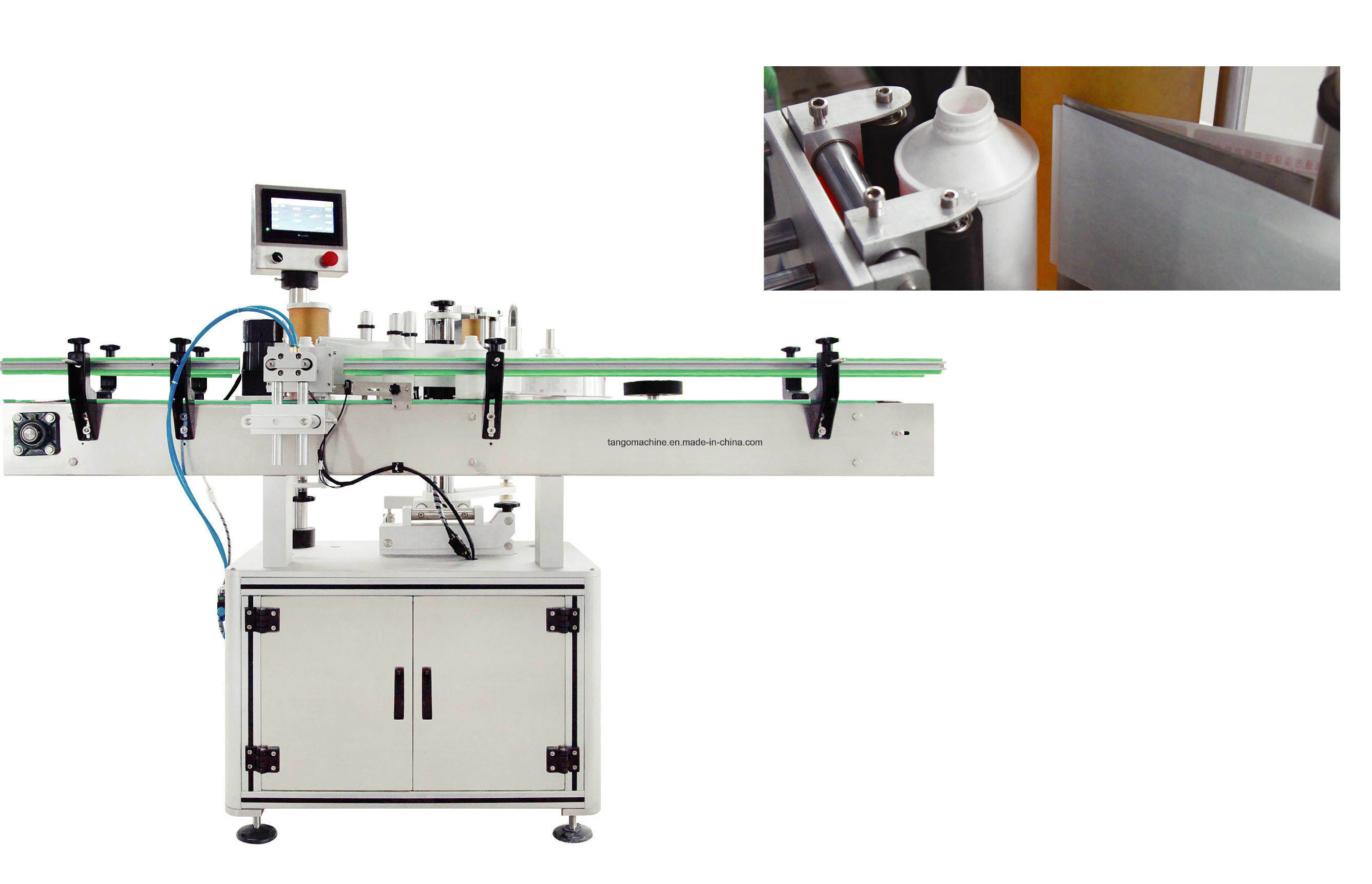 Automatic Two-Sides Labeling Machine for Bottle Barrel