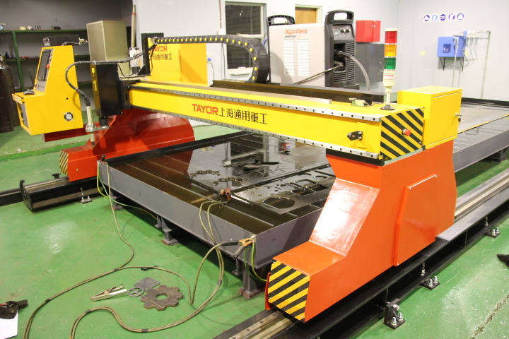 Table Type CNC Plasma and Flame Cutting Table