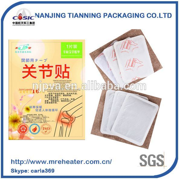 Chinese Supplier Joint Warm Paste, High Quality Heat Moxibustion Patch