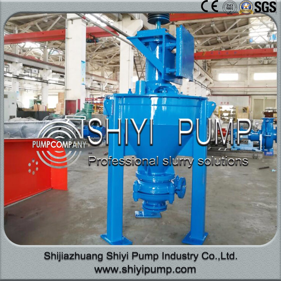 China Manufacturer Vertical Mineral Centrifugal Water Treatment Froth Pump