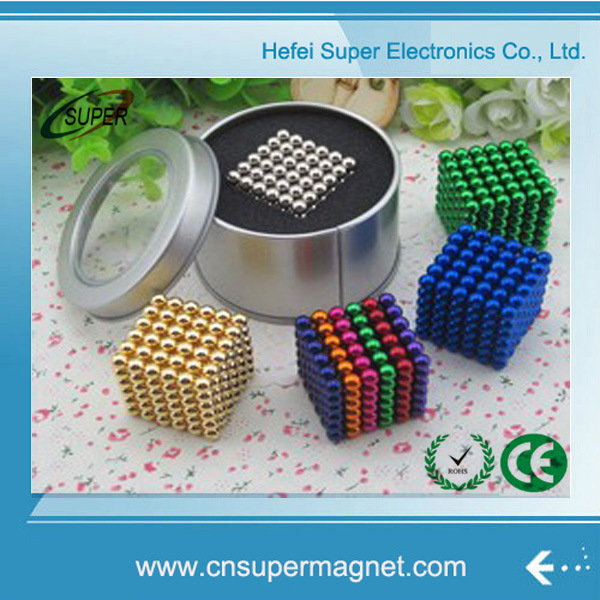 Christmas Toy Magnet Pellets Magnetic Balls 5mm Game Use Color Magnetic Toy