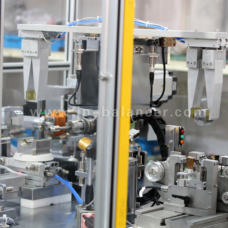 Two-Staion Rotor Automatic Correction Balancing Machine
