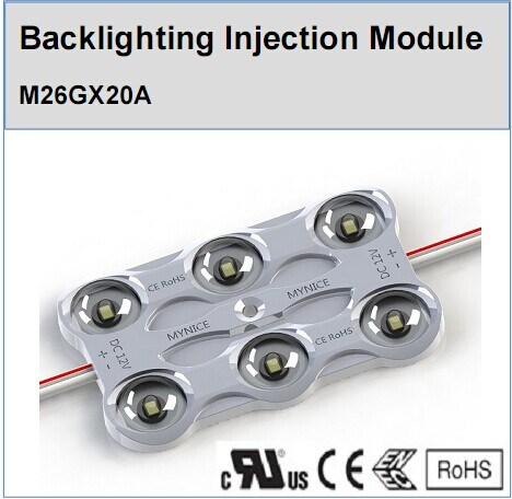 Wholesale Price LED Injection Module with Lens 160 Beam Angle